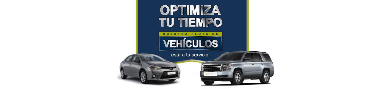 Optimiza tu tiempo, nuestra flota de vehículos está a tu servicio-AOA Colombia